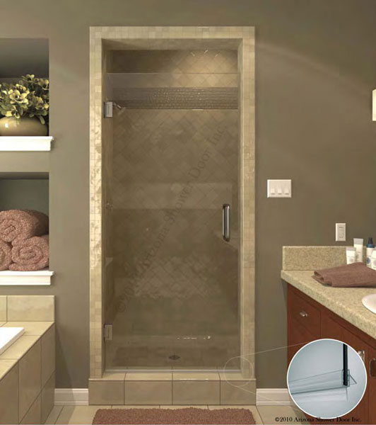A Plus Quality Glass - Frameless Euro Shower Door | Frameless Shower ...