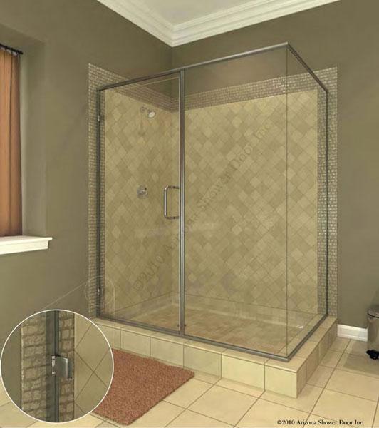 A Plus Quality Glass Frameless Euro Shower Door Frameless Shower