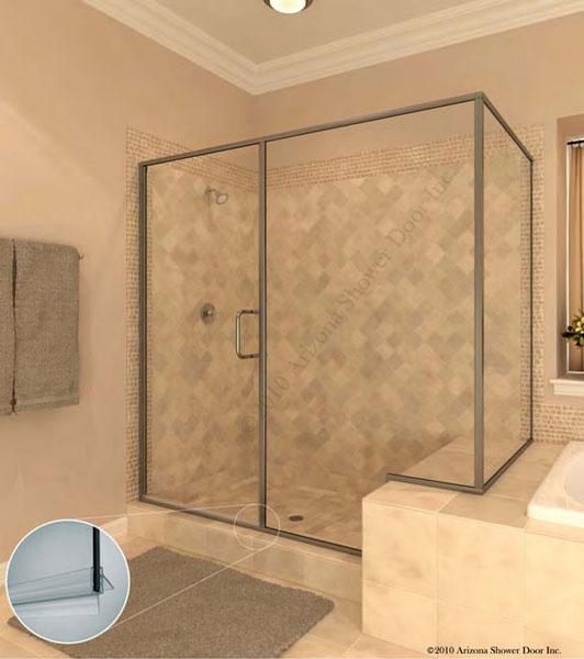 A Plus Quality Glass Shower Doors Frameless Shower